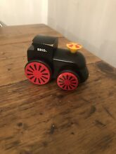 Large wooden train toy
