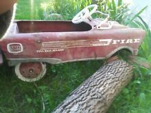 1950s amf fire fighter pedal child