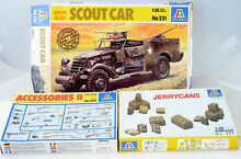 1 35 3 military white scout car