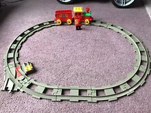 Lego train and track