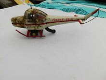 Collectable tin helicopter