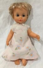 1971 ideal baby doll drink wet
