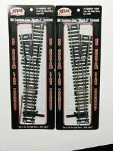 Ho scale 1 left 1 right 4 switch