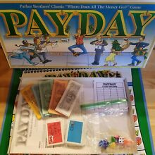 1994 pay day board game by parker