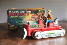 Japan tin toy magic action