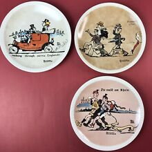 On tour collector plates set of 3