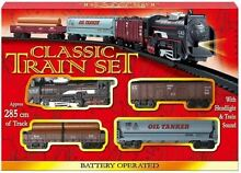 Classic battery operated set tracks