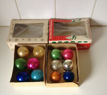 Christmas ornaments 3 x boxes