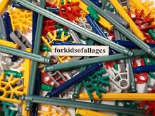100 rods connectors mixed k nex