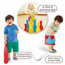 Dolu kids 3 in 1 sports set golf