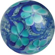 22mm blue flower glow in the dark