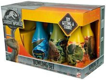 Jurassic world large bowling set