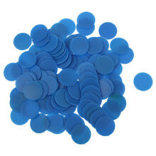 18mm blue counters tiddly winks jeu