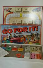 1980s go for it board game from