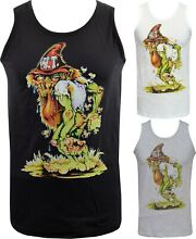 Mens hillbilly tank top ratfink