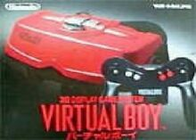 Virtual boy console system boxed