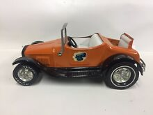 Hot rod tin toy roadster