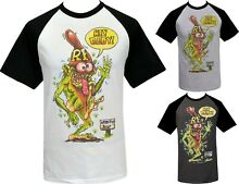 Mens ratfink raglan t shirt hey