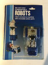 Gobots die cast metal convertible