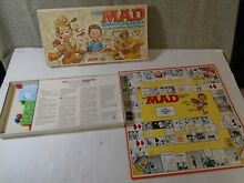 The mad magazine game 1979 parker