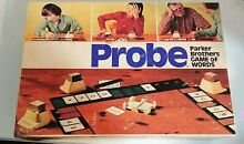 Board game of words 1974 parker