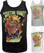 Mens ratfink tank top lowbrow art