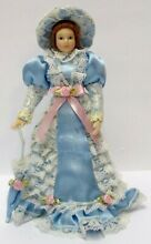 1 12 scale victorian lady in a blue