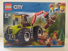 Lego city 60181 tractor forestal