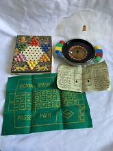 Roulette and chinese checkers c1960