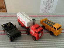 Lot 3 robots gobots mc toys macau
