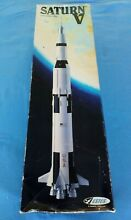 Estes flying model rocket saturn v