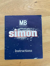 Simon electronic memory game by mb