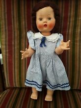 Rosebud walking doll brunette 14