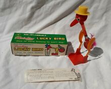 Drinking happy bird in original box