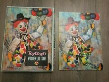 Toytown clown wooden jigsaw puzzle