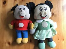 Mickey mouse and minnie mouse 1970