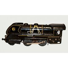 Wind up locomotive