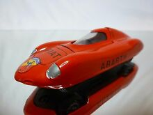11 fiat abarth record car 1958 red