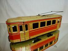 Tin toy friction y 599 tram no 1