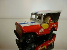 Tt tin toy jeep jal airport service