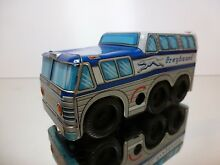 Asahi tin toy bus coach greyhound