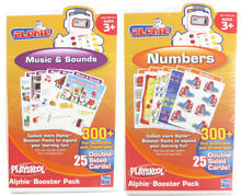 2 playskool alphie booster pack