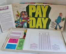 1975 parker brothers pay day board
