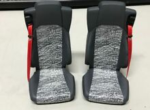 Realistic pair of seats for