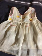 Cotton dress for french doll jumeau
