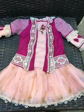 Silk dress for french doll 9 10