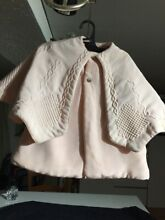 Silk coat for french doll jumeau