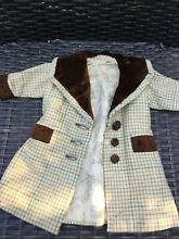 Silk coat for french doll 4 6