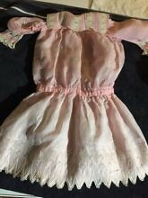 Cotton dress big for french doll