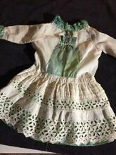 Cotton si dress for french doll